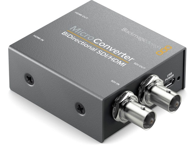 Blackmagic Design Micro Converter BiDirect SDI/HDMI med nettdel
