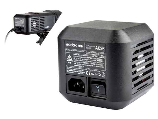 Godox Nettadapter AC26 til Witstro AD600 PRO