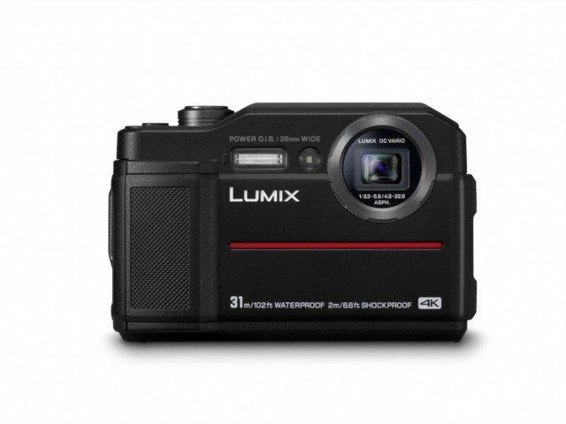 Panasonic Lumix FT7 svart