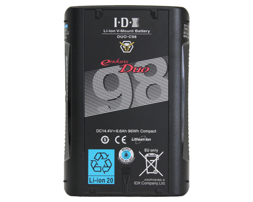 IDX Batteri DUO-C98 14.4V 96Wh Typ100Wh V-Mount