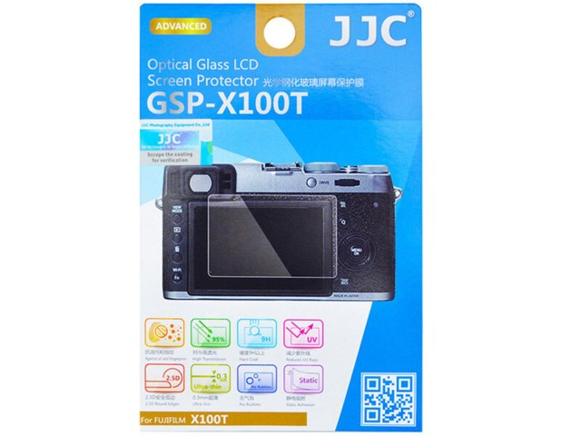 JJC LCD-beskyttelse Optical Glass GSP-X100T til Fuji