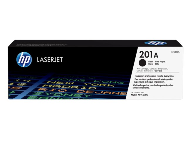 Hp toner 201A Svart for Color Laser Jet M252,
