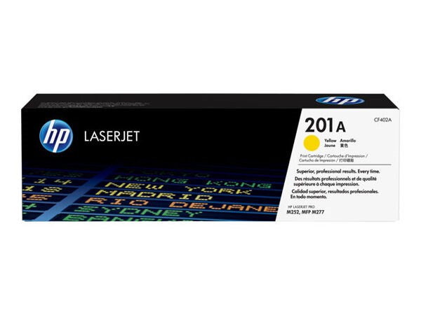 Hp toner 201A Gul for Color Laser Jet M252,