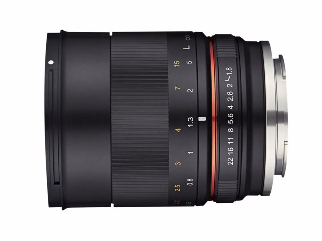 Samyang MF 85mm f/1.8 ED UMC CS til Sony E