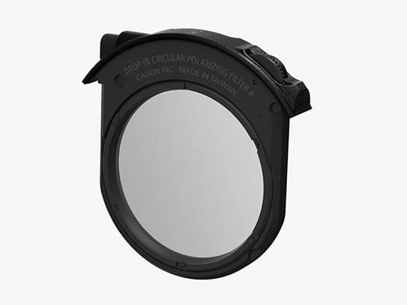 Canon Drop-In Circular Polarizing Filter A