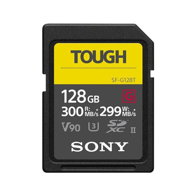 Sony Minnekort Secure Digital 128GB Tough SF-G SDXC