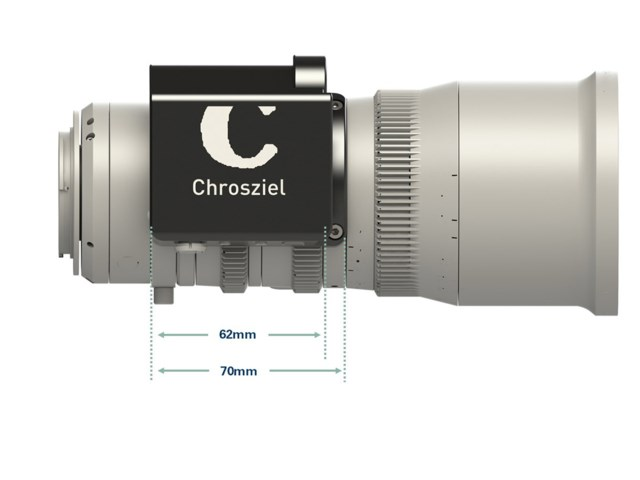 Chrosziel Fujinon MK objektiv clamp-on zoom motopakke