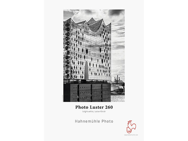 "Hahnemühle Photo Luster Rull 44"" x 30m 260gr"