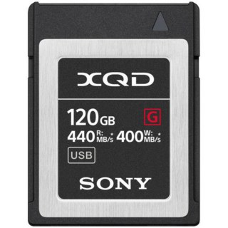 Sony Minnekort XQD G Series High Speed 120GB