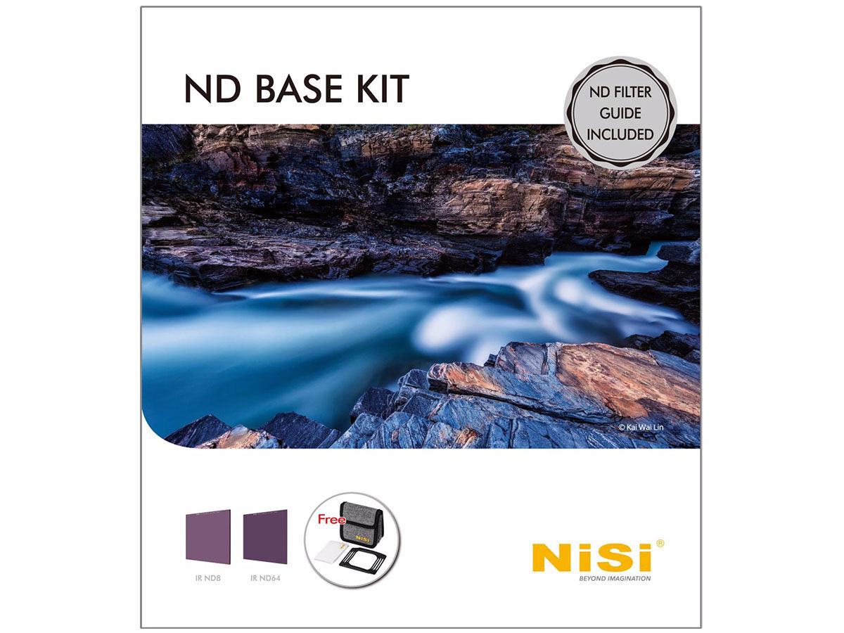 NiSi Filterkit 100mm IR ND Base Kit (ND8+ND64)