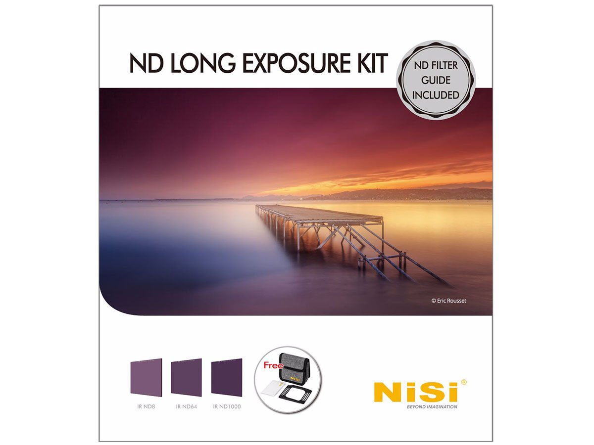 NiSi Filterkit 100mm IR ND Long Exposure Kit