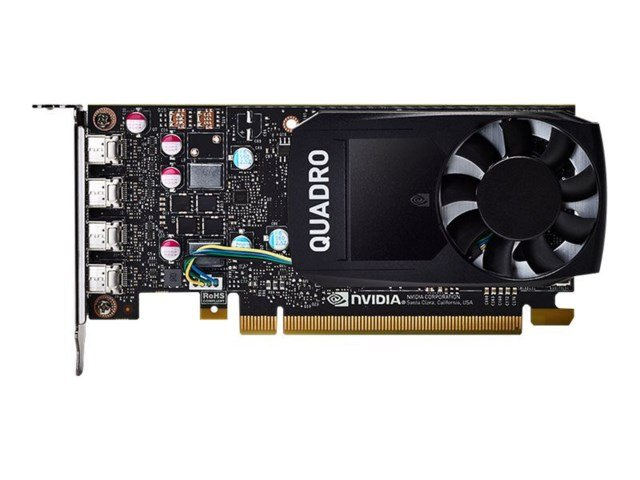 PNY Quadro P620 2GB DVI PCI Express 3.0 Low Profile