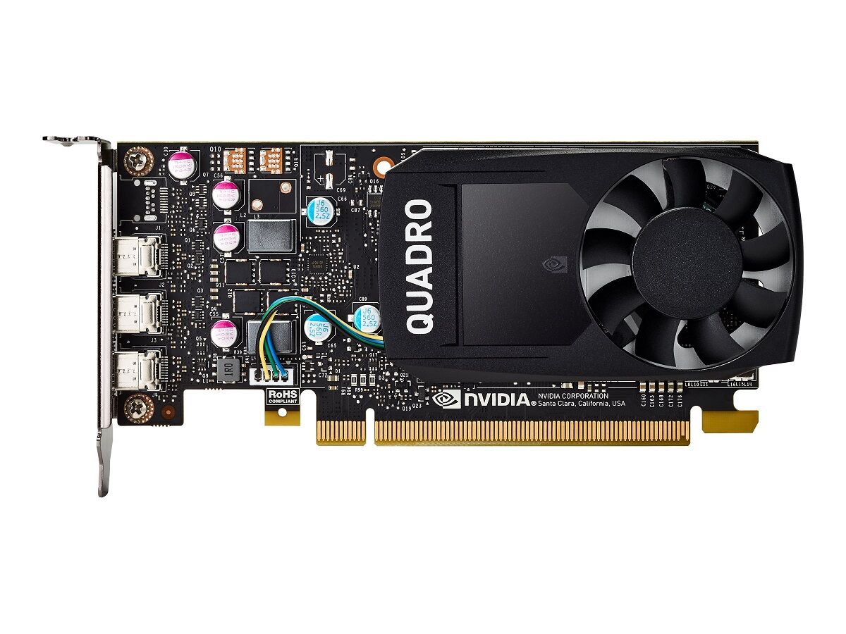 PNY Quadro P400 2GB DVI PCI Express Low Profile
