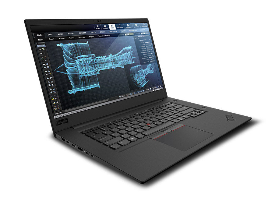 Lenovo ThinkPad P1, i7 8750H 2.2Ghz, 16GB, 512GB SSD,