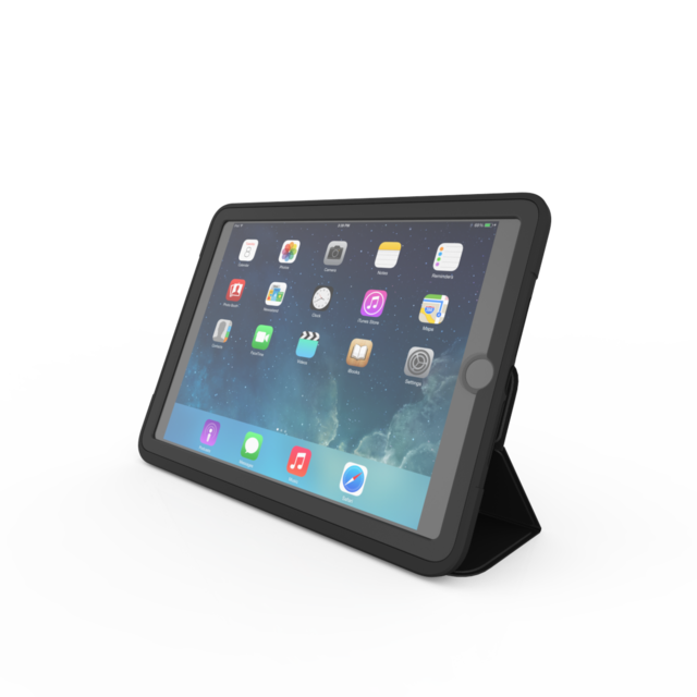 "Zagg Rugged Messenger futteral til Ipad 9,7"" 2017 & 2018"