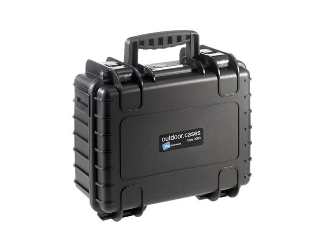 B+W Outdoor Case Type 3000 svart til DJI Mavic 2 Pro/