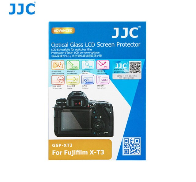 JJC LCD-beskyttelse Optical Glass GSP-XT3 til Fujifilm  X-T3