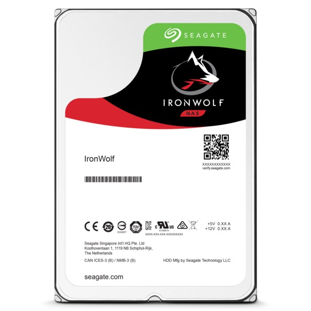 Seagate IronWolf 6TB 7200rpm - ST6000VN0033