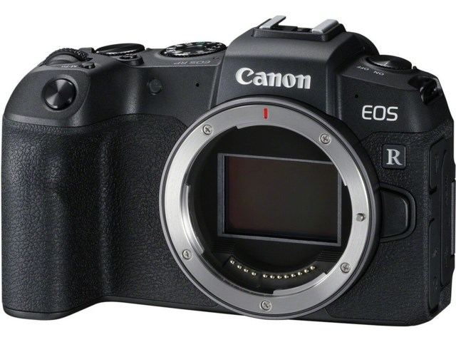 Canon EOS RP kamerahus + Adapter EF-EOS R