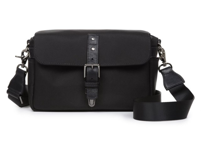 ONA Kameraveske Bowery Messenger Bag (Black Nylon)