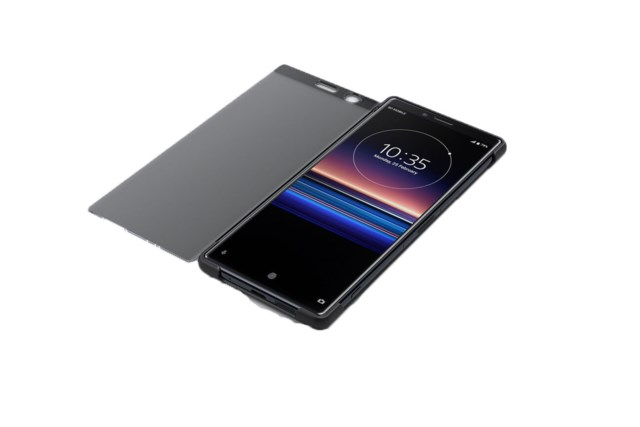 Sony Xperia 1 Style Cover Touch Svart