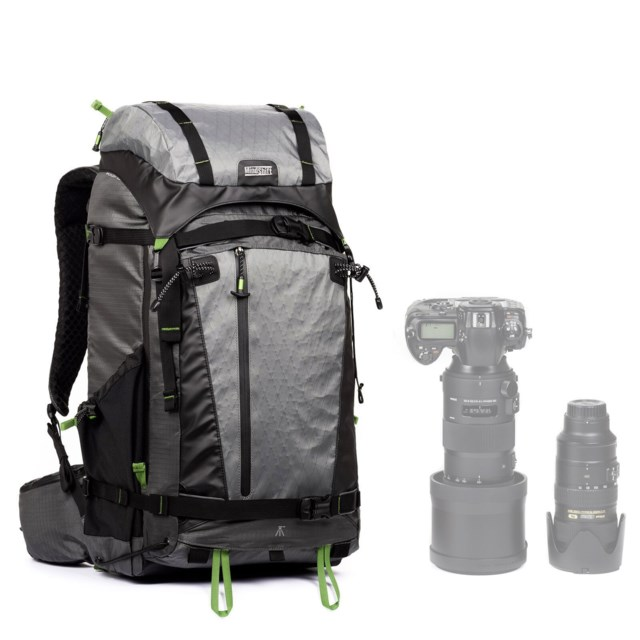 MindShift Gear Kameraryggsekk Backlight Elite 45L Storm Grey