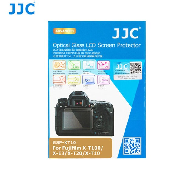 JJC LCD-Beskyttelse Optical Glass til Fuji X-T10, XT-20 & XT-30, X-E3, X-T100