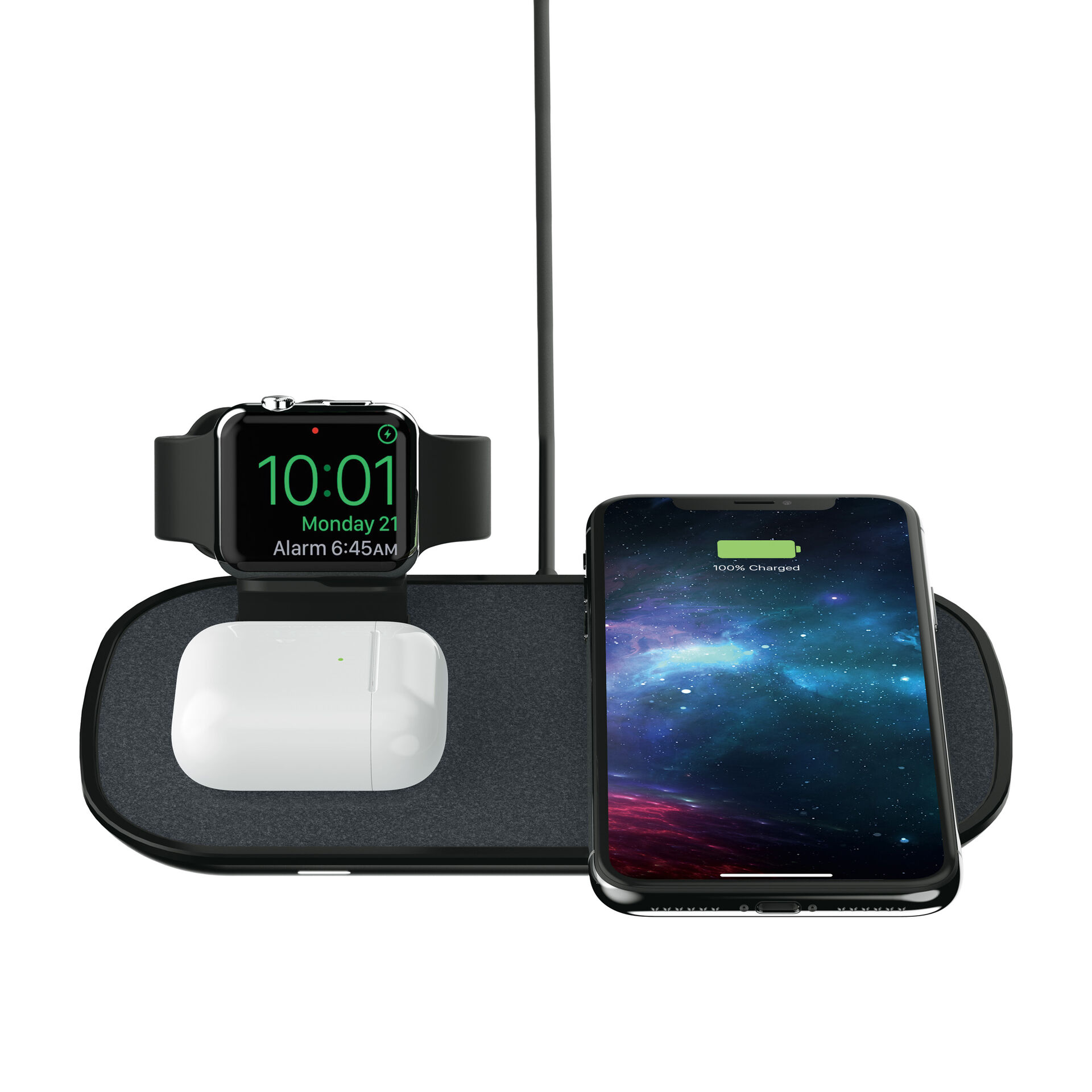 3 in 1 Wireless Charge Pad