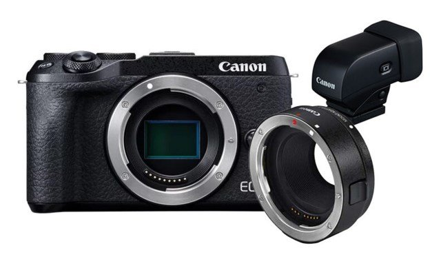 Canon EOS M6 MKII +EF-Adapter bundling