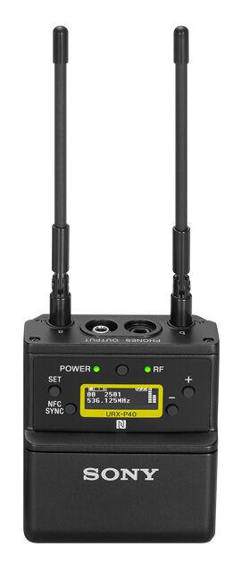 Sony UWP D21 Mygg + Trådløs sender UTX B40 + Kameramottaker