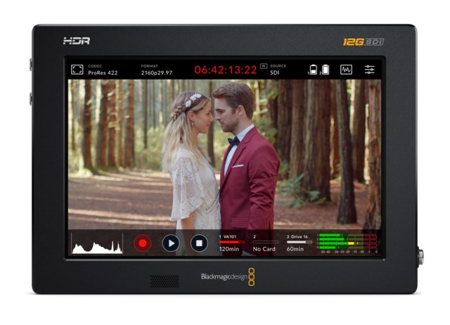 Blackmagic Design Video Assist 12G HDR 7""