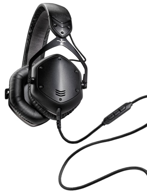 V-Moda LP2 On-Ear Matte Black
