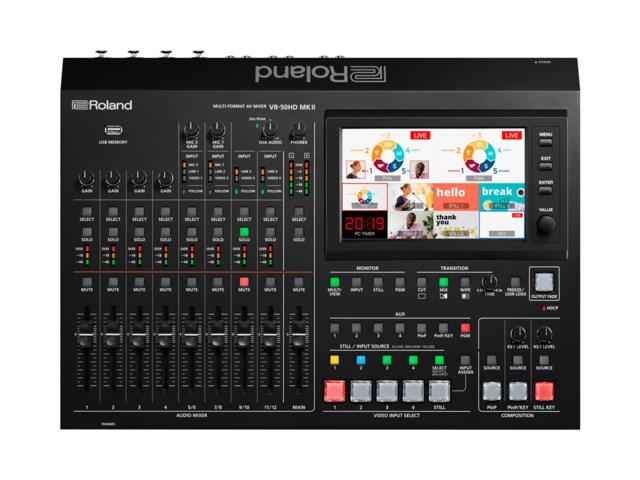 Roland Streaming Switch VR-50HD MK2