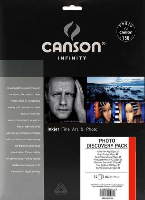 Canson New Photo Discovery Pack A4 14 ark