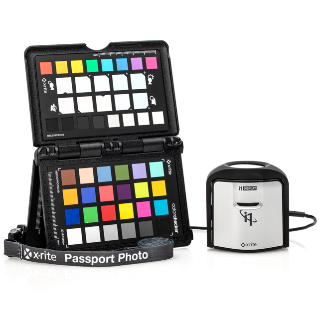 X-rite i1 ColorChecker Pro Photo Kit - i1Display Pro + ColorChecker Passport Photo 2