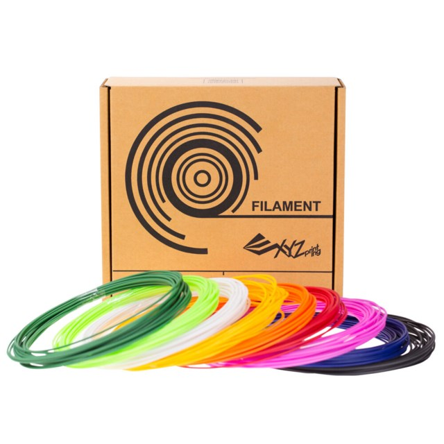 XYZ 3D Pen Cool filament 9 colors 346gr