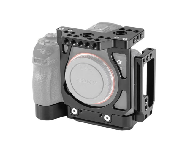 SmallRig Half Cage 2236 med Arca L-Bracket for Sony A7R III / A7 III