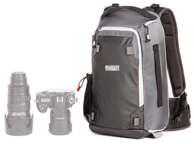 MindShift Gear Kameraryggsekk Photocross 13 Backpack Carbon Grey