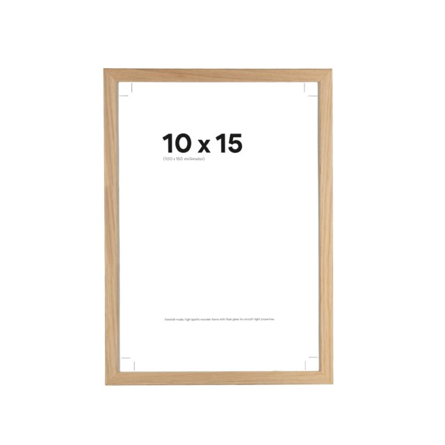 Scandinavian Photo Fotoramme 10x15 Slim Eik