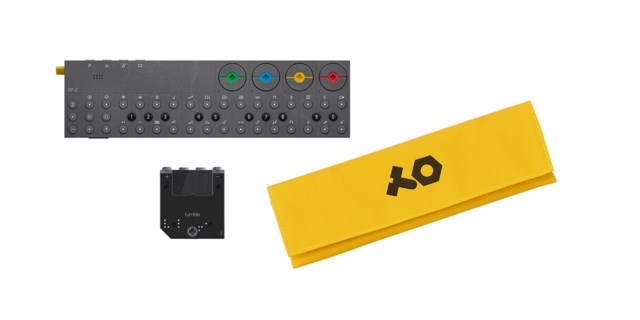 Teenage Engineering OP-Z inkl. rumble modul & futteral gul