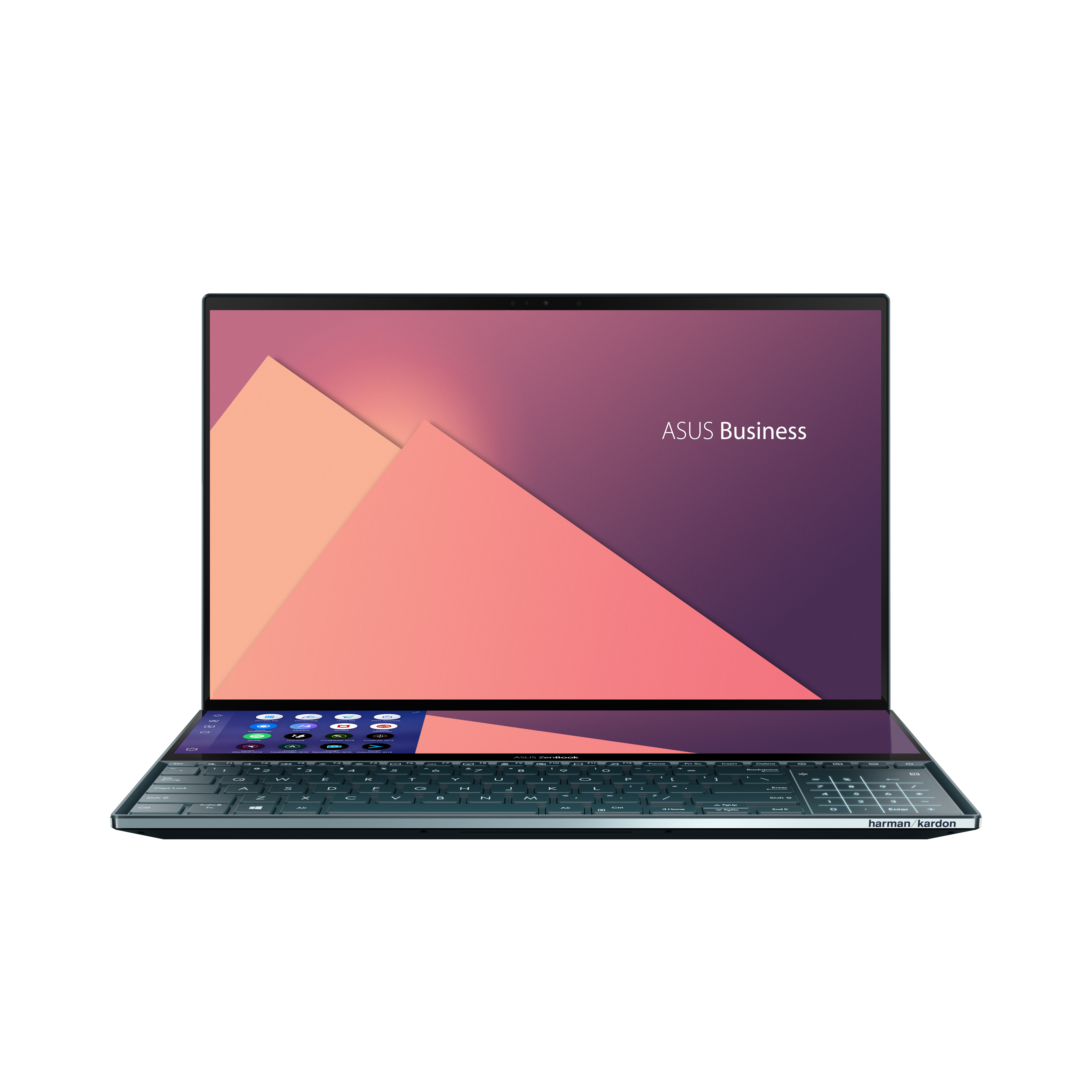 ASUS ZenBook Pro Duo 15,6 UHD4K OLED Touch Bærbar