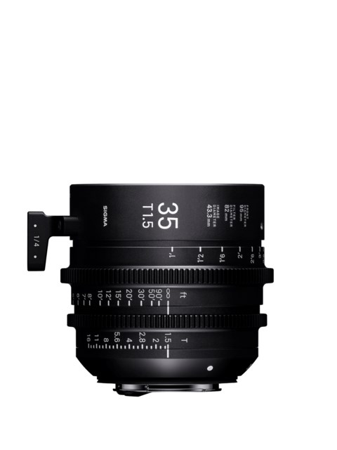 Sigma CINE 35mm T1.5 FF PL-mount i/Technology