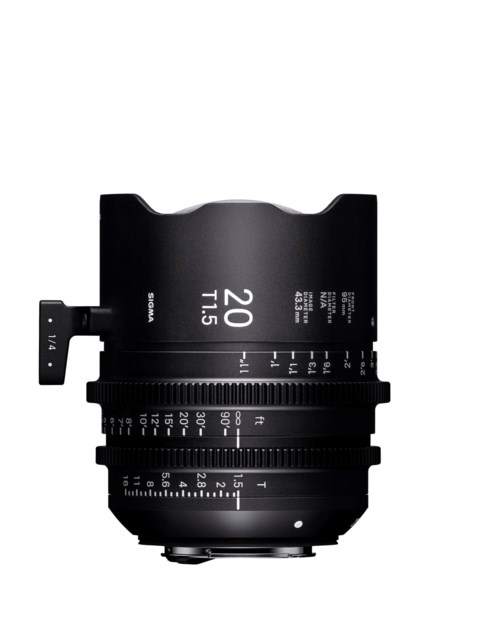 Sigma CINE 20mm T1.5 FF PL-mount i/Technology