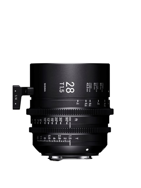 Sigma CINE 28mm T1.5 FF PL-mount i/Technology