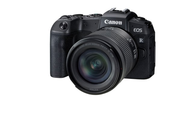 Canon EOS RP med RF 24-105mm f/4-7.1 IS STM