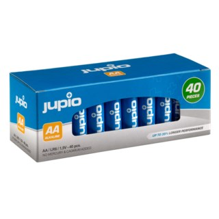 Jupio AA LR6 1,5V Batteri 40-pack