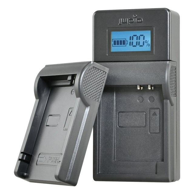 Jupio USB Brand charger Canon 7,2V-8,4V batteries