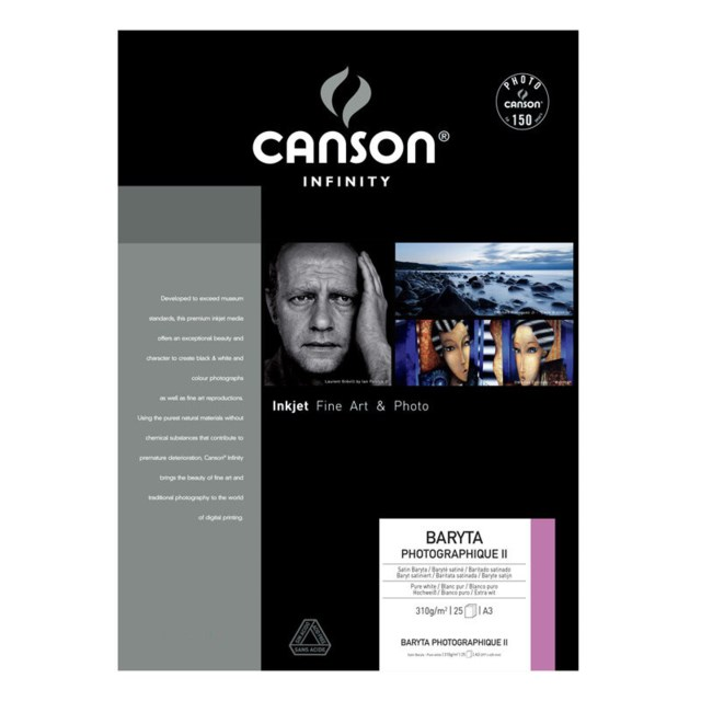 Canson Baryta Photographique II A2 310g 25blad