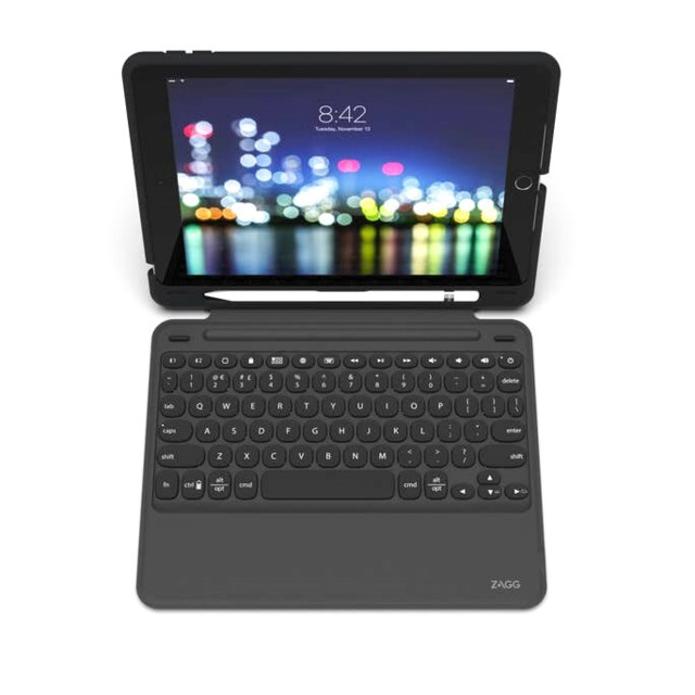 "Zagg Slim Book Go - Keyboard & Case Ipad 10,2"" Nordic"