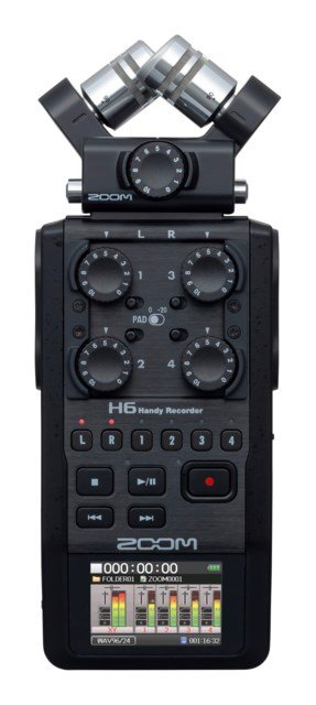 Zoom Handy Recorder H6 Black
